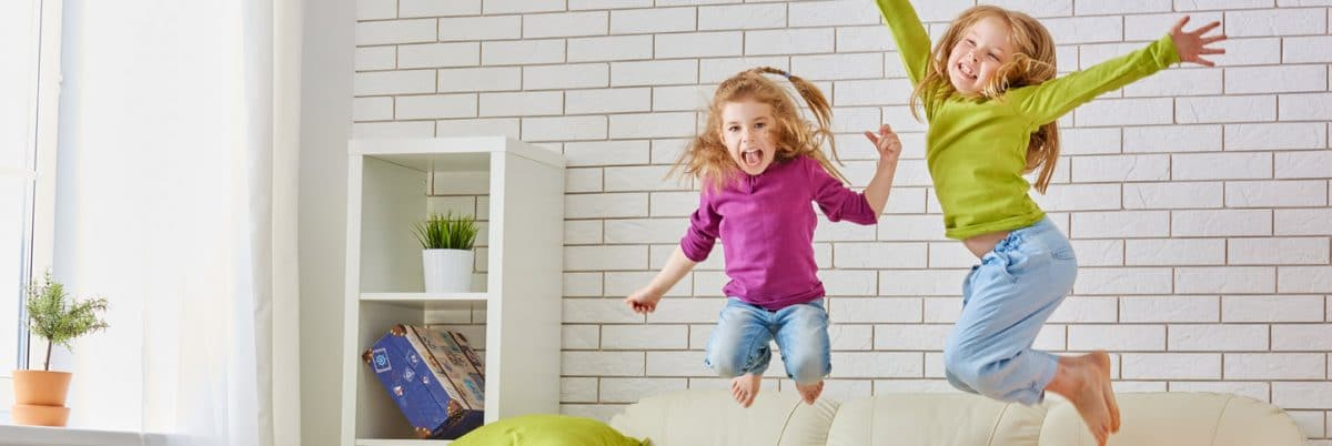 Air Conditioning Repair Greenville SC - Kids Jumping